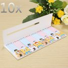 Animals girls Sticker Post-It Bookmark Marker Memo Index Tab