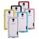 Ultra Thin TPU+PC Bumper Frame Case For Samsung Galaxy Note 4 N9100