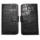 Alligator Pattern Flip Open Case For Samsung Galaxy S5