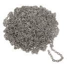 5M Silver Plated Metal Chain DIY Jewelry Clothing Accessories