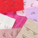 5Pcs Fashion Woman's Lingerie Bra Extenders Strap Extension 2X3 Hooks