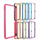 Plum Buckle Arc Metal Frame Bumper Case For Huawei Honor 6