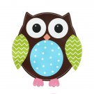 Removable Owl Birds Branch Vinyl Kids Room Wall Stickers