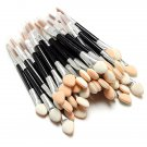 50Pcs Disposable Sponge Eye Shadow Lip Brushes Applicator Set
