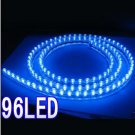96 LED Strip Motorcycle/Car Lights Flexible Grill Light