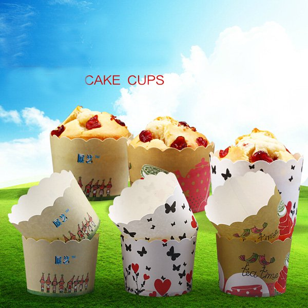 24pcs Muffin Cupcake Baking Cup Paper For Party Wedding Birthday