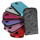 Shining Spangle PU Top Flip-Open Case For Samsung Galaxy S4 I9500