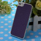 Slim Hard Luxury Carbon Fibre Pattern Back Case Cover Skin For iPhone5