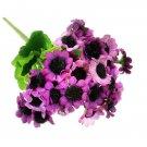 1 Bouquet Artificial Sunflower Silk Flower Home Garden Decoration