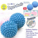 2PCS No Chemicals Washing Laundry Drying Fabric Soften Ball