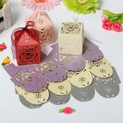 Wedding Favor Candy Boxes&Table Decorations-Pierced Heart Design