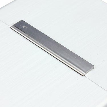 Magnetic Induction Aluminum Pocket For 20 Cigarette Cigar Tobacco Case