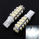 2x T10 Xenon White Wedge 38 SMD Light bulbs 168 194 W5W
