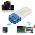 Bluetooth Audio Music Receiver Adapter For iPhone Smartphone Device