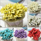 Colourful Vivid Calla Lily Bridal Bouquet Wedding Car Decoration