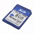 8GB SD HC SDHC Flash Secure Digital Memory Card Camera
