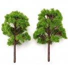 10pcs Micro Landscape Simulation Model Tree Flowerpot Decoration