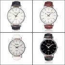Dalas Fashion Simple Style Leather Quartz Wrist Watch