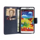 Flip Leather Wallet Card Stand Case For Samsung Galaxy Note 3 N9000