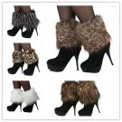 Fur Ankle Lower Leg Boots Sleeve Cover