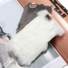 Soft Winter Warmer Fur Hard Back Case Cover Skin For iPhone 5C