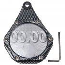 Motorcycle Metal Alloy Tax Disc Permit Holder Waterproof Seal