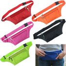 Unisex Running Bum Bag Travel Handy Hiking Sport Waist Belt Zip Pouch