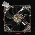 4 Pins 120x120x25mm 12V 0.30A Heatsink CPU LED Cooling Fan PC Computer