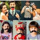 50Pcs Fun DIY Photo Booth Props On A Stick Wedding Party Fun Favor