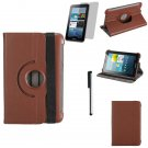 360 Degree Rotating Leather Case For Samsung Galaxy P3100 P3113 P3110