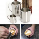 150-1000ML Stainless Steel Lathe Coffee Milk Pitcher Frothing Jug