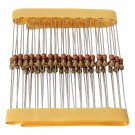 50 Pcs 330 Ohm 1/4W 0.25W 5% Carbon Film Resistors