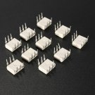 10 Pcs MOC3023 342Q Optocoupler Triac Silicon Driver IC Chip FSC