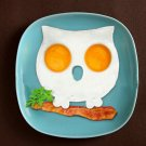 Silicone Owl Shaped Fried Egg Mold Funny Side Up Egg Ring Mould