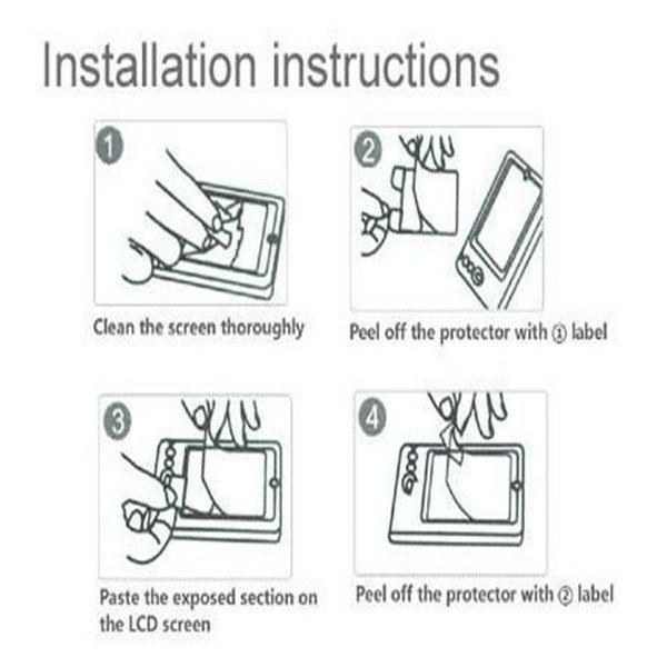 3x Matte Anti-Glare LCD Screen Protector For Samsung Galaxy 7 Inch Tab