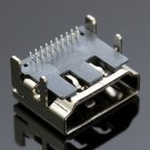 5pcs 19 Pin HDMI Female DIP Jack Socket Connectors 2Rows 90 Degree