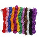 1mm Nylon Knot Cord Beading Macrame Braided Thread String Rope