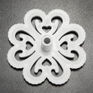 3Pcs Plum flower Fondant Cake Embosser Mold Cake Decorating Tools
