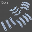 10X LED Strip Accessory Fix Clips For SMD 3528/5050 Strip Lights