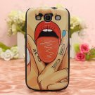 Sexy Girl Pattern Case For Samsung Galaxy S3 i9300 Smartphone