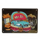 Route 66 Diner Tin Sign Vintage Metal Plaque Bar Pub Home Wall Decor