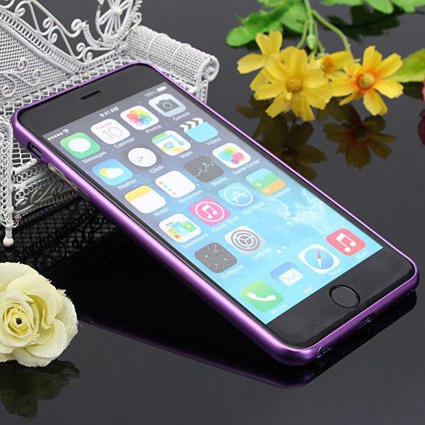 Ultra Thin Slim Aluminum Metal Frame Bumper Case For iPhone 6 Plus