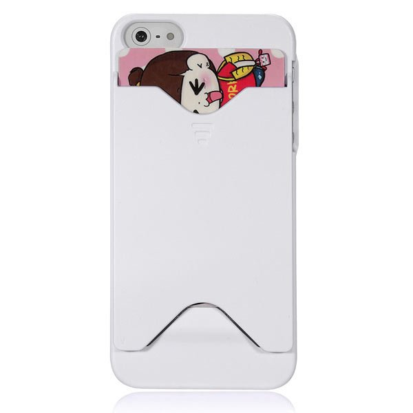 Colorful Credit Card Holder Hard Back Case For iPhone 5 5G 5th