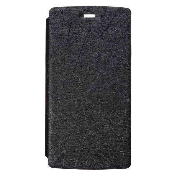 Drizzle Scratch PU Leather Flip Stand Cover Case For OnePlus One