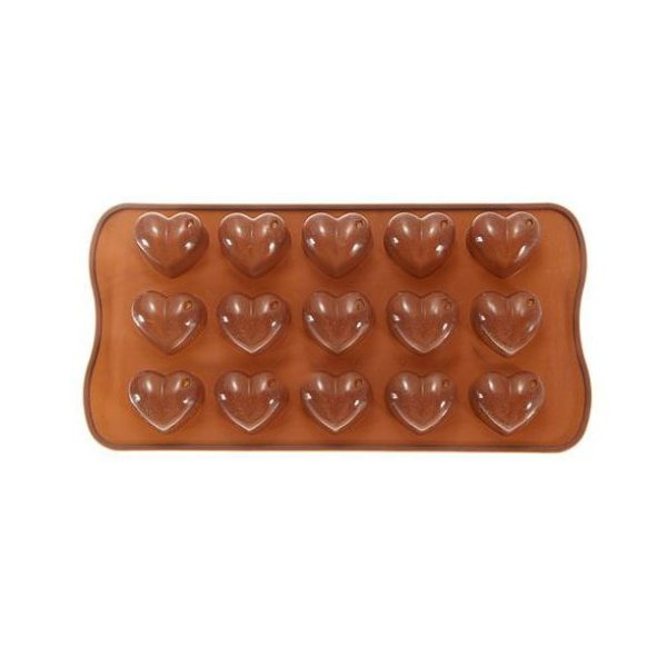 Heart Chocolate Cake Cookie Muffin Silicone Mould