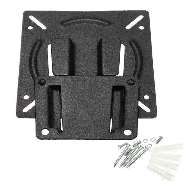Wall Mount Bracket For 10 - 23 Inch Flat Panel Screen LCD LED Display TV Monitor
