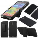 Black Belt Clip Bracket Slip Case For Samsung Galaxy Note 3 N9000