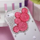 Lovely Cartoon Mouse Sparkle Crystal Diamond Case For iPhone 5