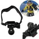 Bicycle Helmet Mount Holder Bracket For Mobius ActionCam Sports Camera