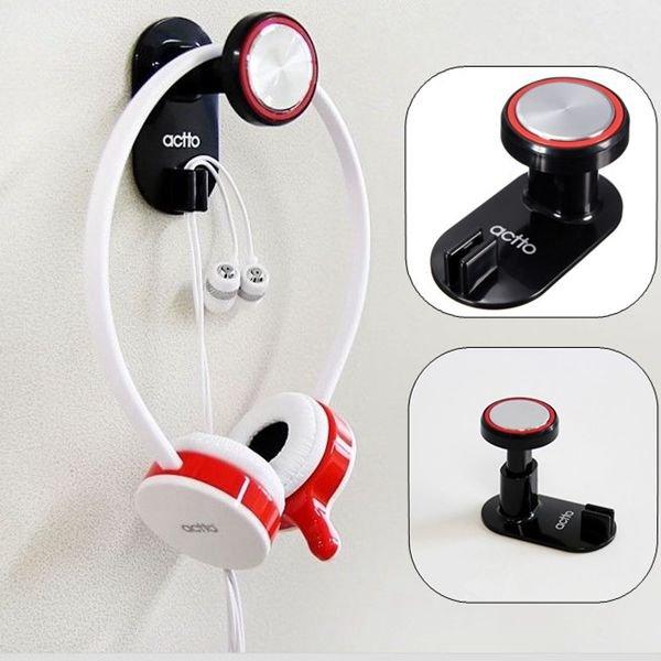 Headphone Holder Hanger Wall PC Monitor Stand
